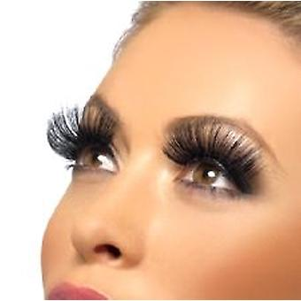 Eyelashes - Black - with Adhesive