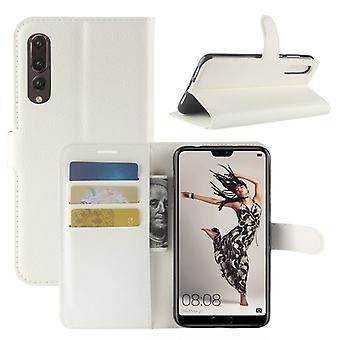 Branco de prémio de carteira de bolso para Huawei P20 por caso capa luva de proteção bolsa acessórios novos