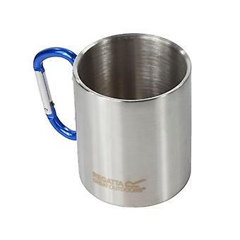 Regatta 300ml Mug with Karabiner Handle - Silver