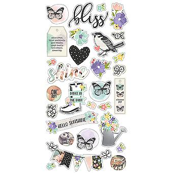 Bliss Chipboard Stickers 6