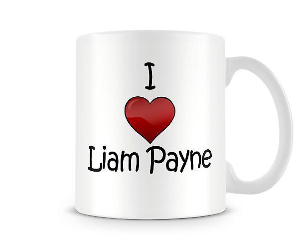 I Love Liam Payne Printed Mug