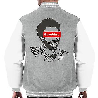 Childish Gambino Skate Brand Men's Varsity Jacket