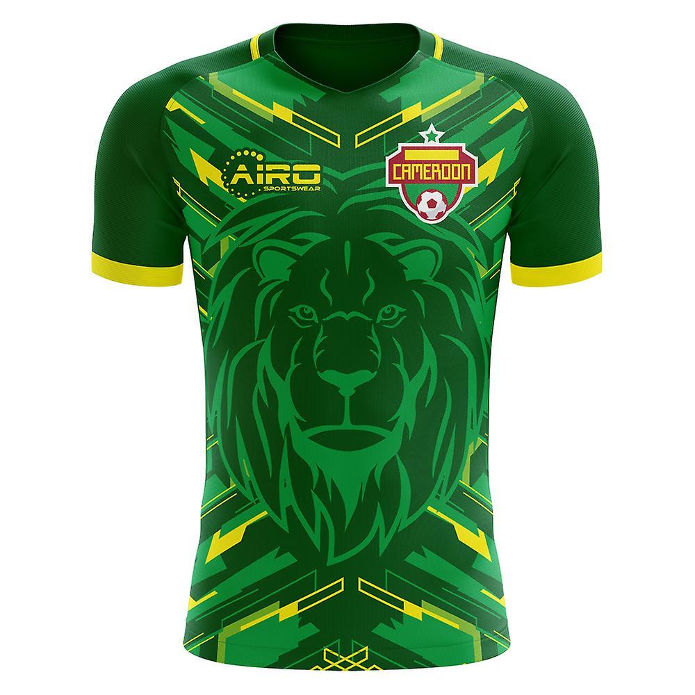 2018-2019 Cameroun maillot de foot Home Concept