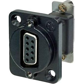D-SUB adapter D-SUB socket 9-pin - D-SUB socket 9-pin Neutrik NADB9FF-B 1 pc(s)