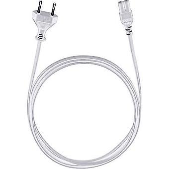 Cable [1x Europlug - 1x Small appliances socket (C7)] 5 m White