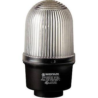 Light Werma Signaltechnik 219.400.00 White Non-stop light signal 12 V AC, 12 Vdc, 24 V AC, 24 Vdc, 48 V AC, 48 Vdc, 110 V AC, 230 V AC