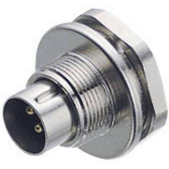 Binder 09-0411-00-04 Sub Miniature Circular Connector Series Nominal current (details): 3 A