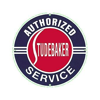 Studebaker Service Enamelled Steel Fridge Magnet