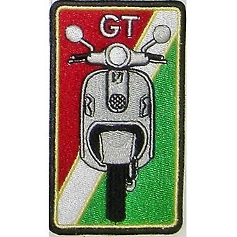Vespa Gt Sew-On Embroidered Patch