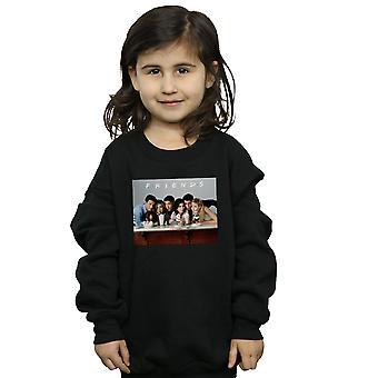 Mädchen Gruppe Freunde Foto Milchshakes Sweatshirt