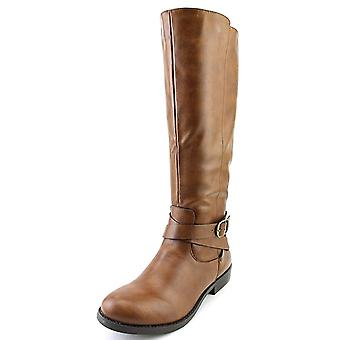 Style & Co. Womens madixe Almond Toe Knee High Fashion Boots