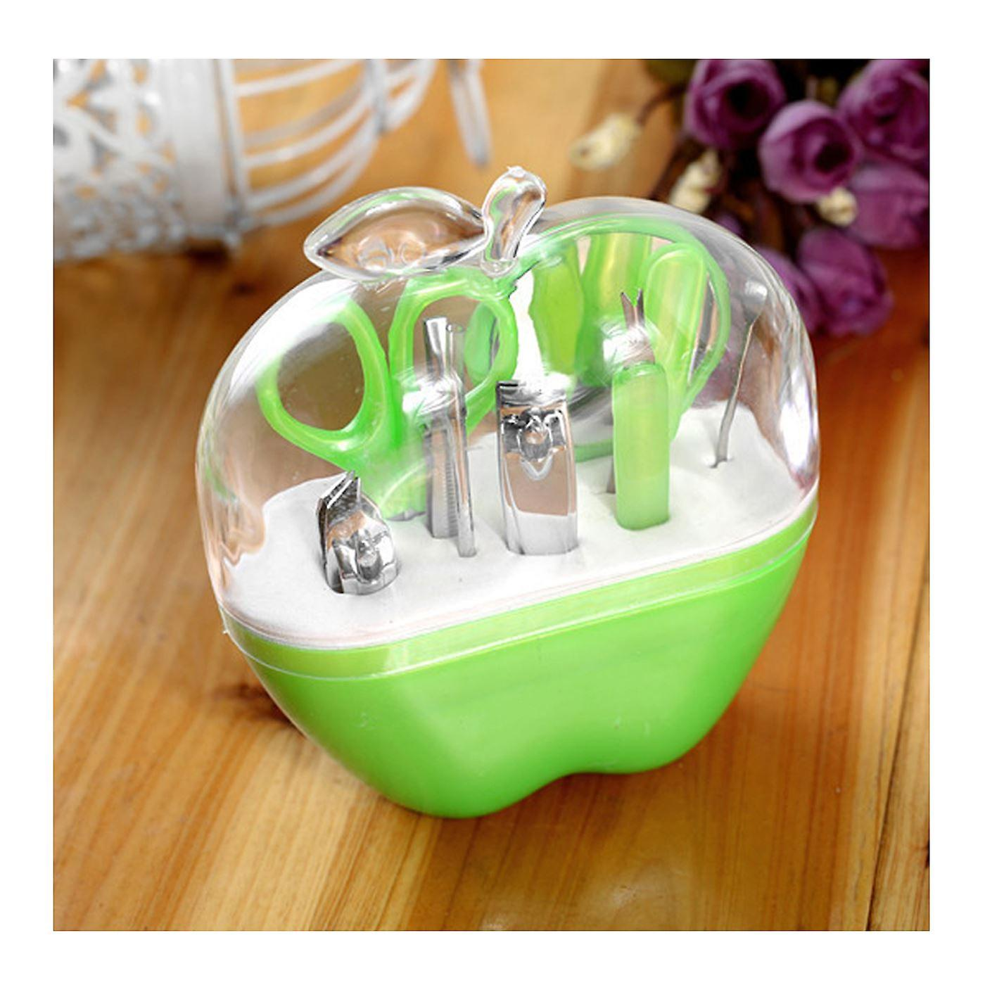 Coupe Verte ongles Ongles Pomme Pédicure Uk Toilettage Coupe Soins Manucure Set Cuticule Nm80nw