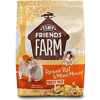 Supremi piccoli amici fattoria Reggie ratto & Mimi Mouse gustoso Mix