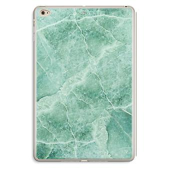 iPad Mini 4 Transparent Case (Soft) - Green marble