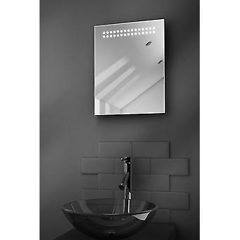 Reflect Ultra-Slim LED Bathroom Mirror With Demister Pad & Sensor k8