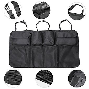 TRIXES Black and Grey Boot Storage Organiser Hanging Car Boot Tidy
