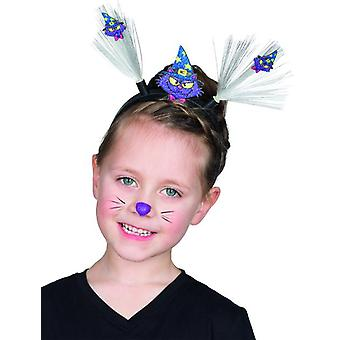 Magic Cat LED hair band for children accessory witch costume Halloween Carnival