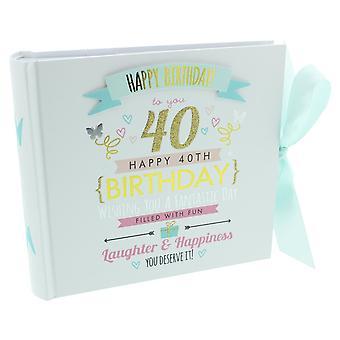 Signography Ladies 40th Birthday Photo Album