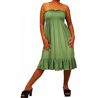 Waooh - mode - gemiddelde twee strapless jurk in een