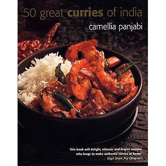 50 große Currys of India (Mini Ed) von Camellia Panjabi - Peter Knab