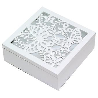 Gisela Graham Storage Box 37839 bianco
