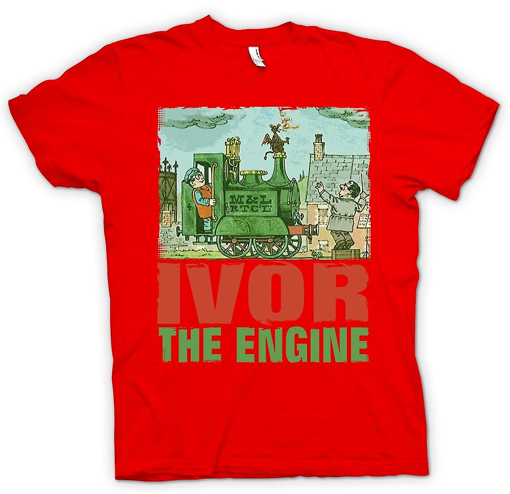 Heren T-shirt - Ivor de motor - Jones en Dai