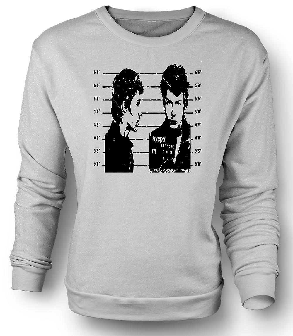 Mens Sweatshirt Sid Vicious - Sex Pistols - mugg / Punk