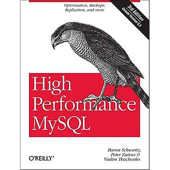 High Performance MySQL - Optimization - Backups - Replication - and Mo