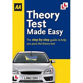 Theory Test Made Easy - AA Driving Test (2nd edition) by Jane Gregory