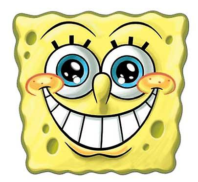 Spongebob Smile Card Face Mask