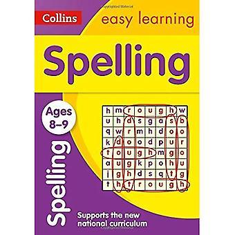 Stavning 8-9 år: ny upplaga (Collins lätt lärande KS2)