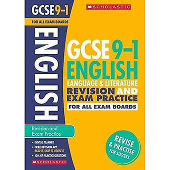 English Language and Literature Revision and Exam Practice Book for All� Boards (GCSE Grades 9-1)