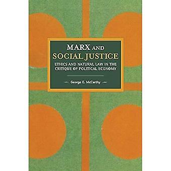 Marx en sociale rechtvaardigheid: Ethiek en Natural Law in the Critique of Political Economy