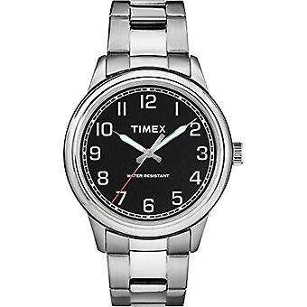 TW2R36700-Timex men's watch with quartz movement, classic analogue dial and stainless steel band