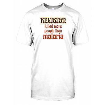 Religion drept flere mennesker enn Malaria Mens T-skjorte