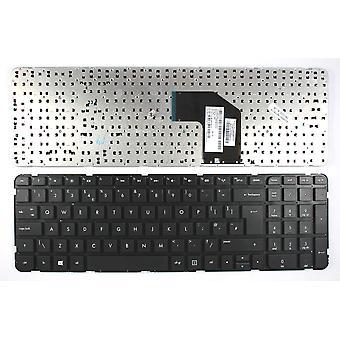 HP AER36E01210 svart Windows 8 UK Layout erstatning bærbare tastatur