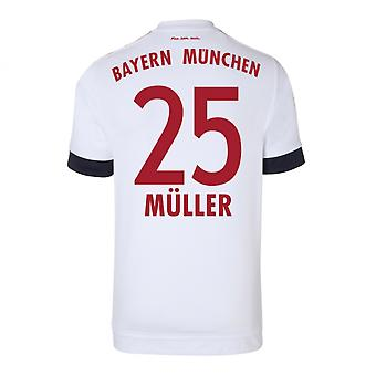2015-16 Bayern Munich Away Shirt (Muller 25) - Kids