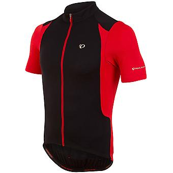 Pearl Izumi Black-True Red Select Pursuit Short Sleeved Cycling Jersey