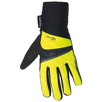 Northwave Black-Yellow Fluorescent Sonic Full MTB Gloves