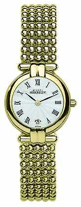Michel Herbelin Womens Perle, Gold 16873/BP08 Watch