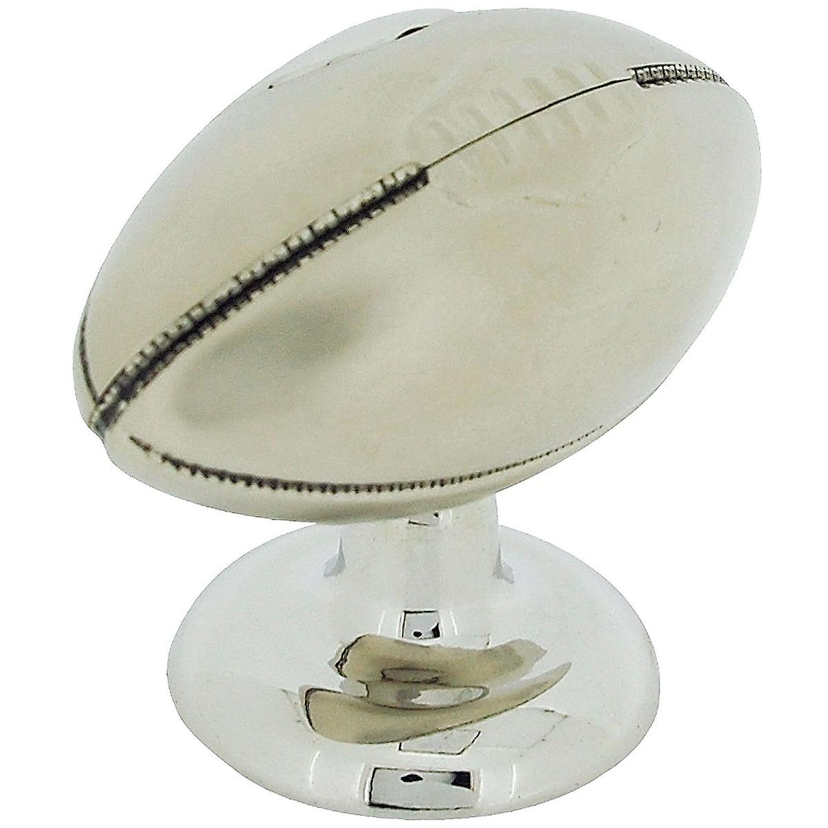 Free 9647s Ball Collectors Clock Desktop Rugby Standing Miniature Novelty q34RALcj5S