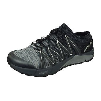 Merrell Bare Access Flex Knit Mens Trail Running Trainers / Shoes - Grey