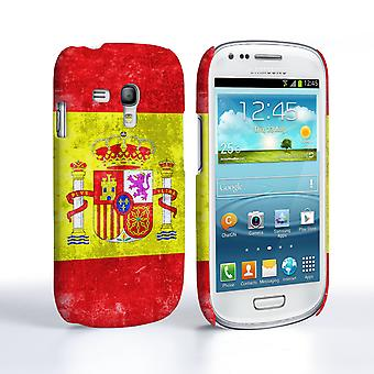 Caseflex Samsung Galaxy S3 Mini Retro Spanien flagga fall