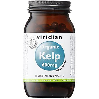 Viridian Kelp 600mg Veg Caps Organic (providing 420ug iodine) 90 (272)
