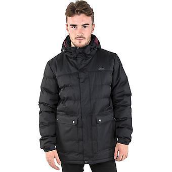 Trespass Mens Specter Insulated Padded Waterproof Jacket