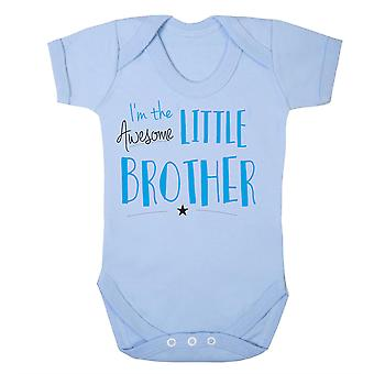 Awesome little brother babygrow