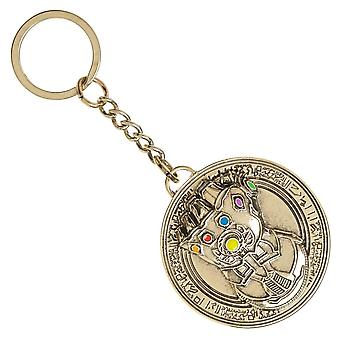 Key Chain - Avengers Endgame - Thanos Infinity Gauntlet New ke7rqiavt