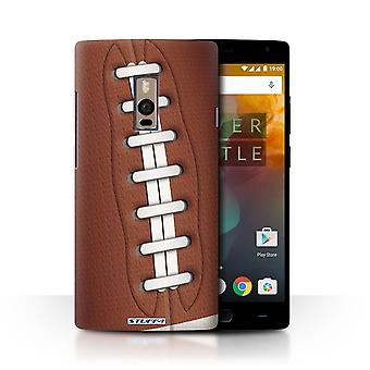 STUFF4 Phone Case / Cover for OnePlus 2/Two / American Football Design / Sports Balls Collection