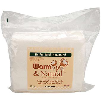 Warm & Natural Cotton Batting King Size 120