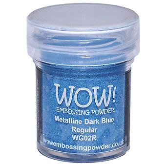 Wow! Embossing Powder 15Ml Dark Blue Metalline Wow Wg02r